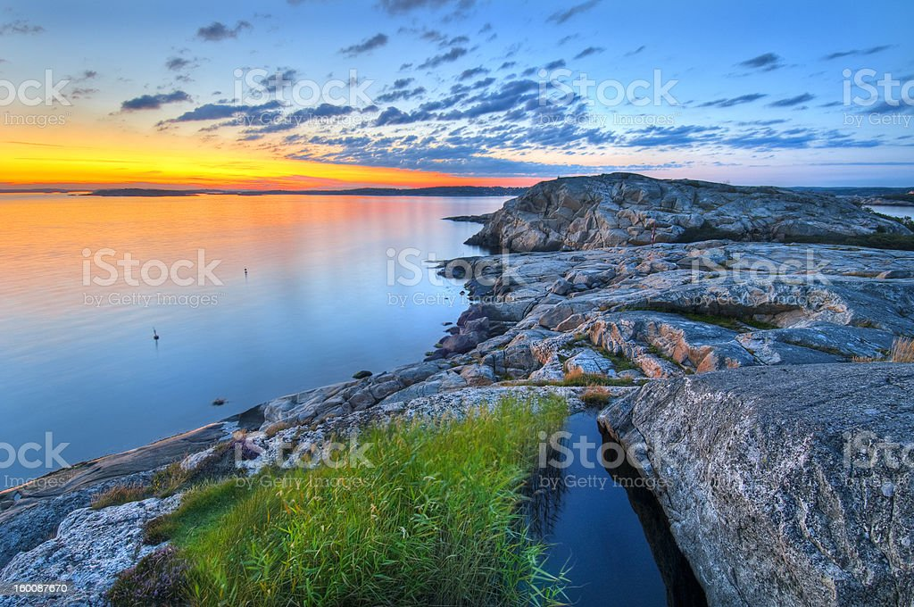 Sunset_Landscape stock photo