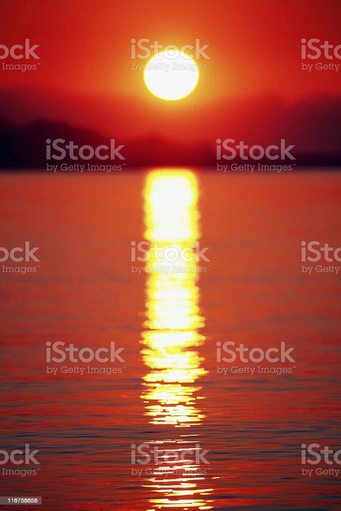 sunset/sunrise royalty-free stock photo
