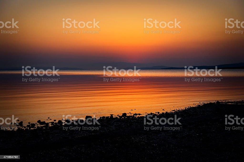sunset/sunrise stock photo