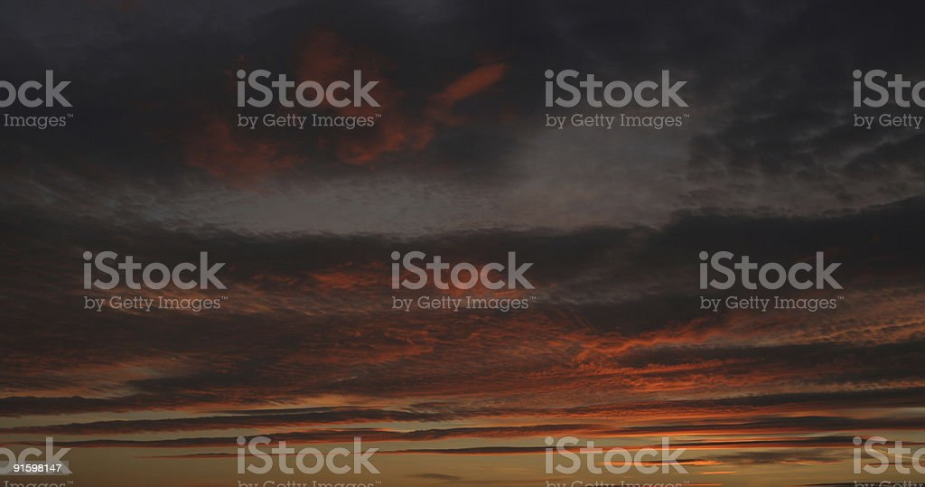 sunsetting royalty-free stock photo