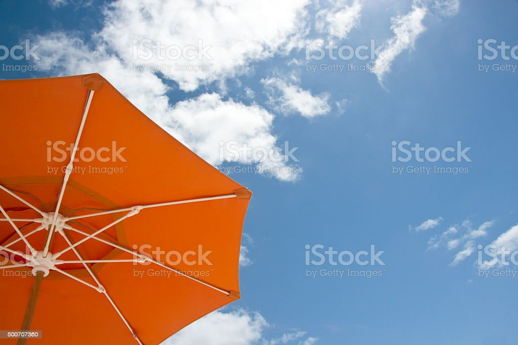 Sunshade Miami stock photo