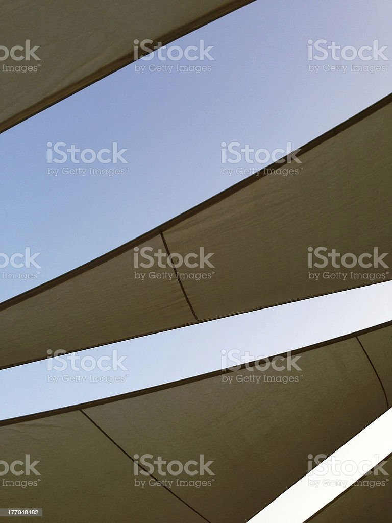 Sunshade royalty-free stock photo