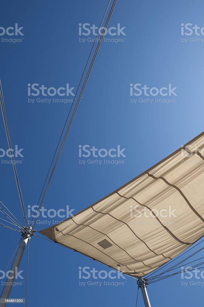 Sunshade stock photo