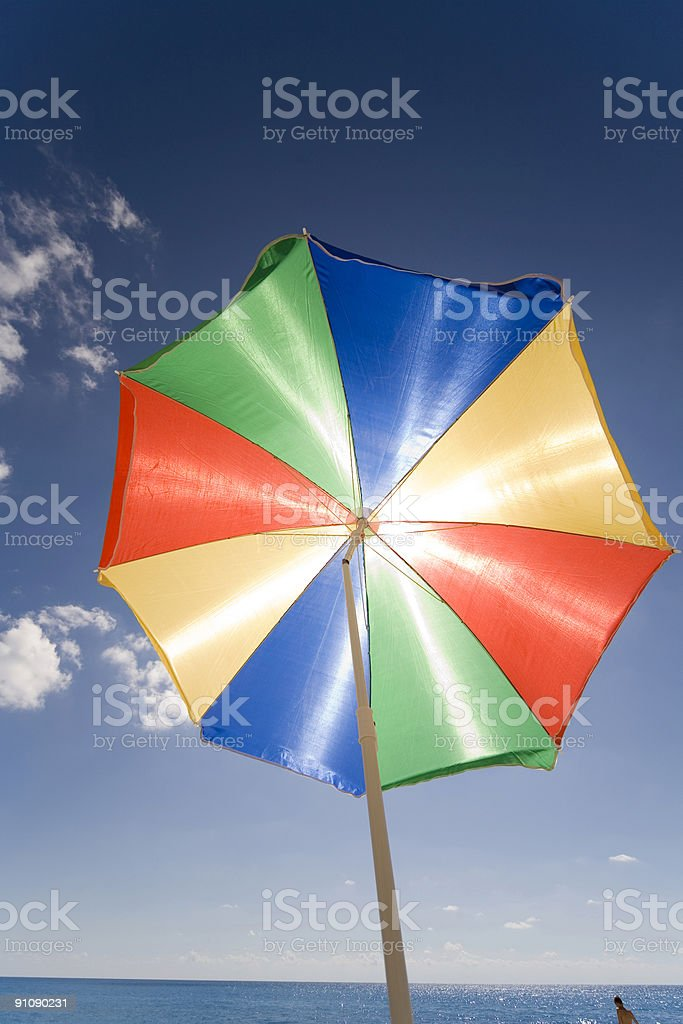 sunshade royalty-free stock photo