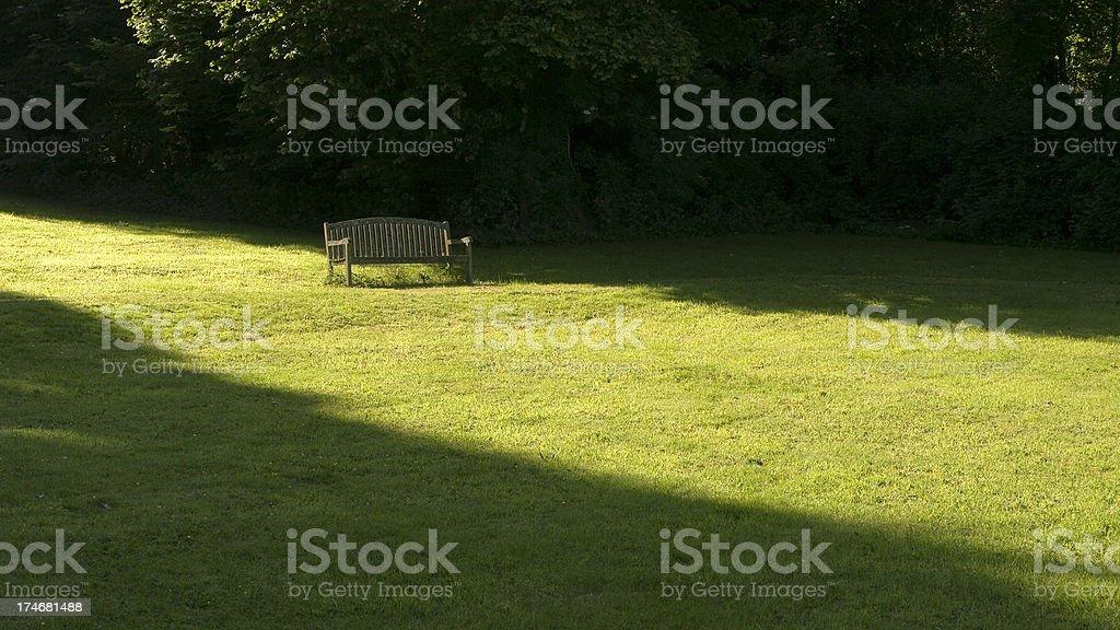 sunshine and shadows royalty-free stock photo