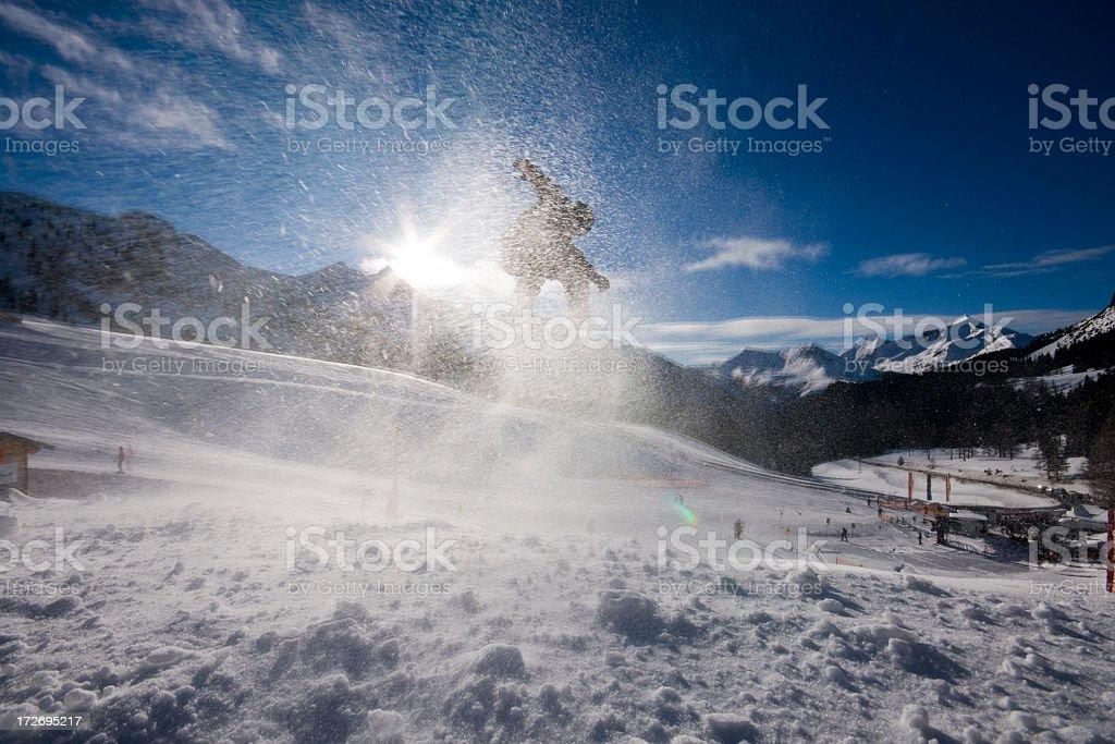 Sunshine Boarder stock photo