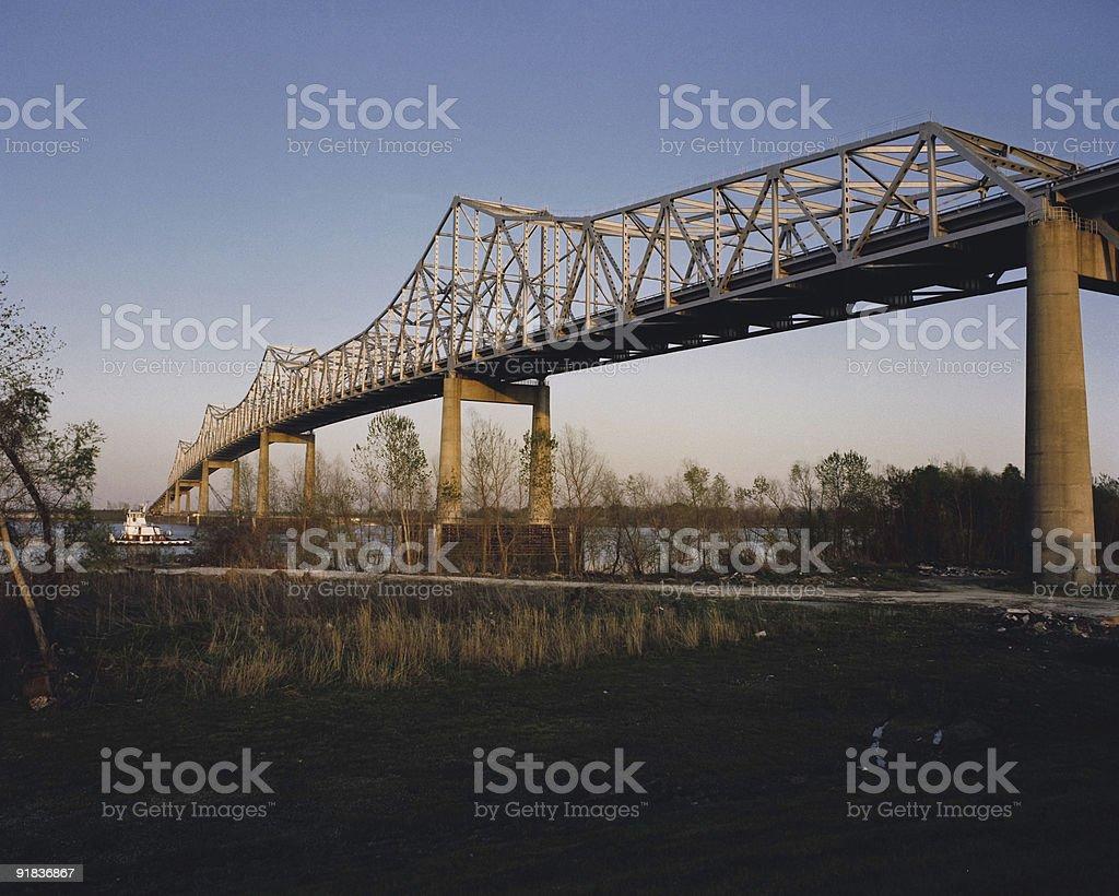 Sunshine Bridge royalty-free stock photo