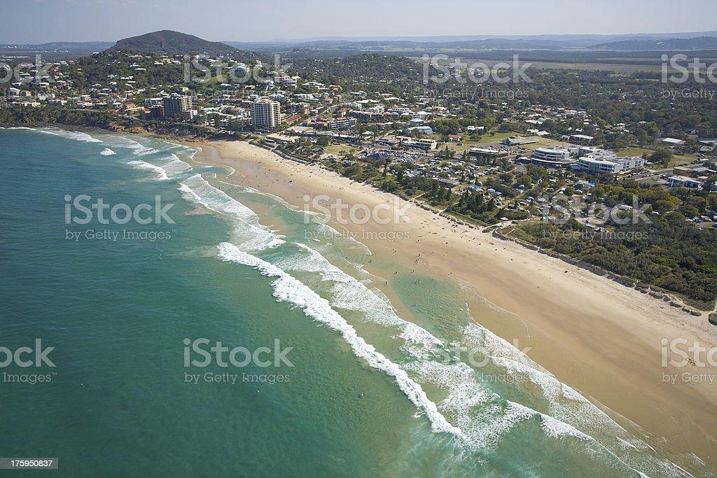 Sunshine Coast stock photo