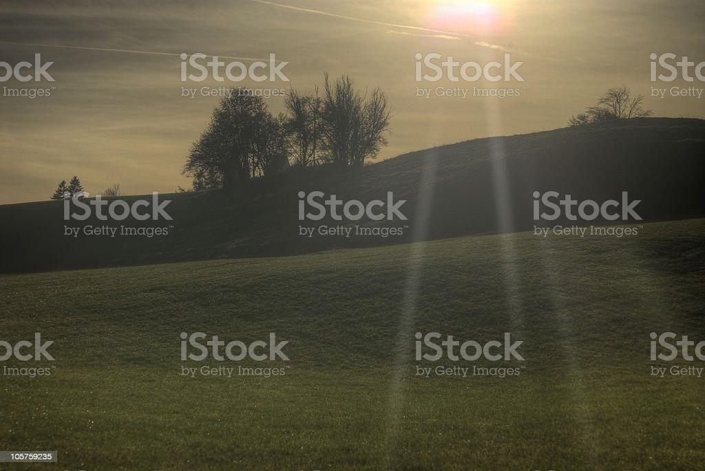 Sunshine HDR stock photo