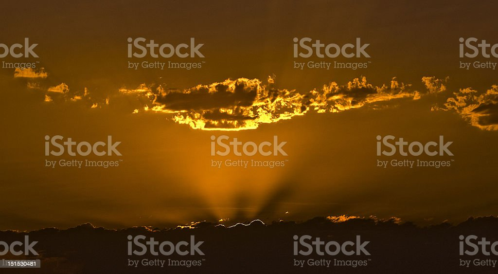 sunshine Lizenzfreies stock-foto