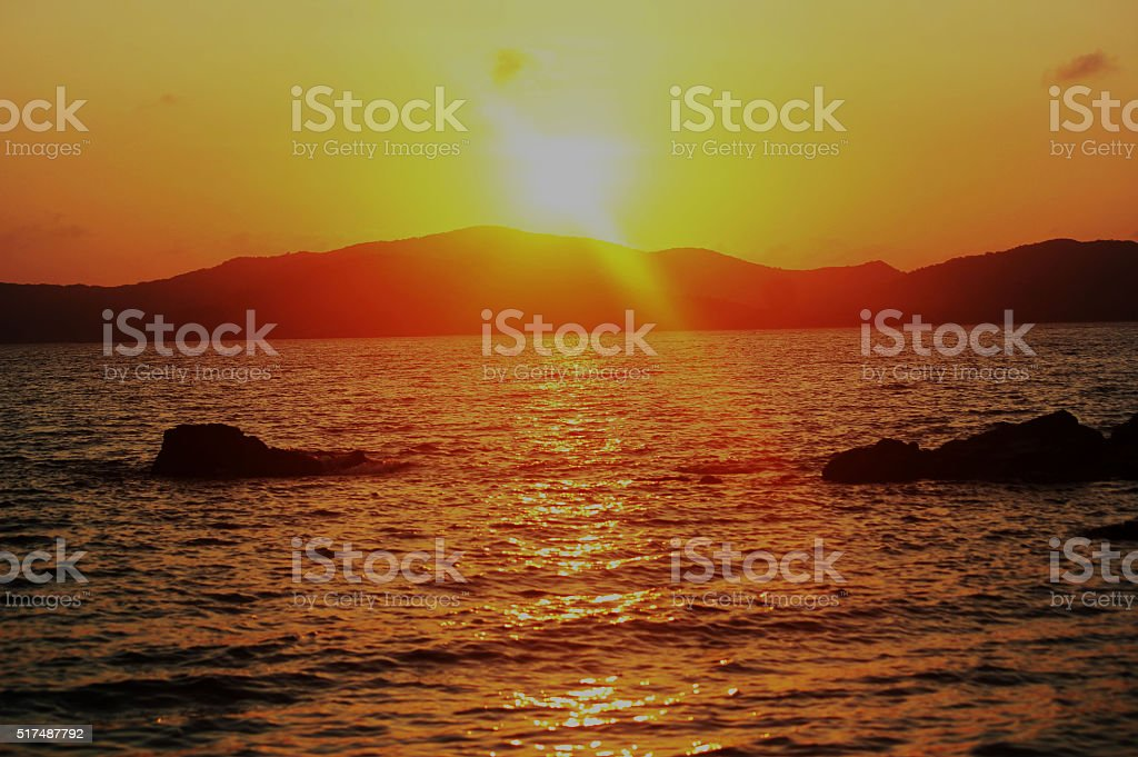 sunshine stock photo