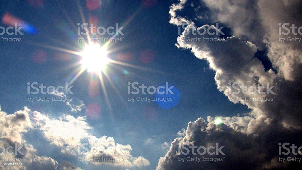 Du soleil photo libre de droits