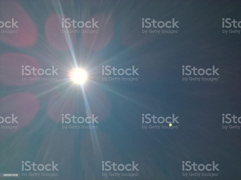 Sunshine Power stock photo