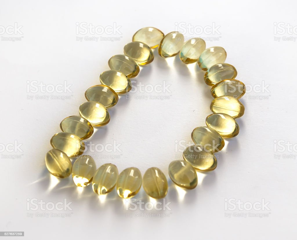 Sunshine Vitamin D symbol stock photo