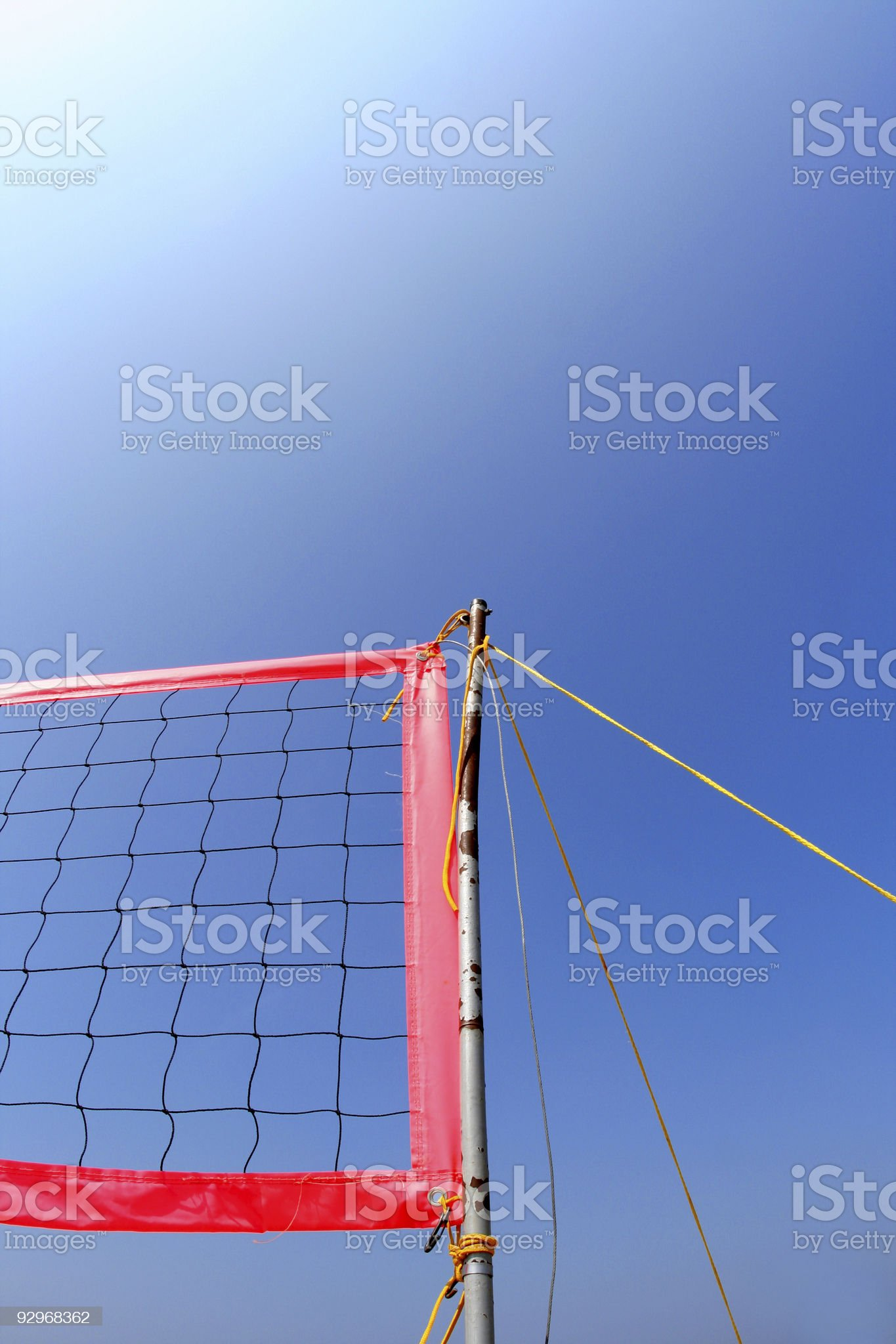 Sunshine Volleyball royalty-free stock photo