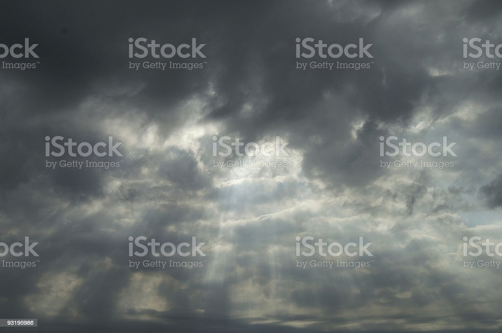 Sunshine, where are you? royalty-free stock photo