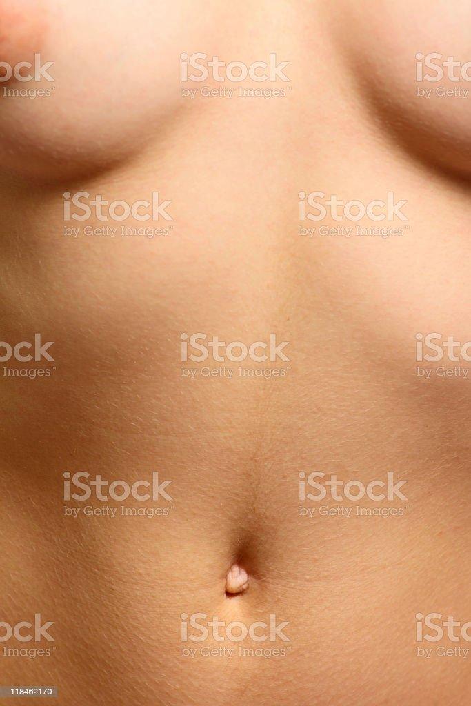 Suntanned kobieta ciało zbiór zdjęć royalty-free
