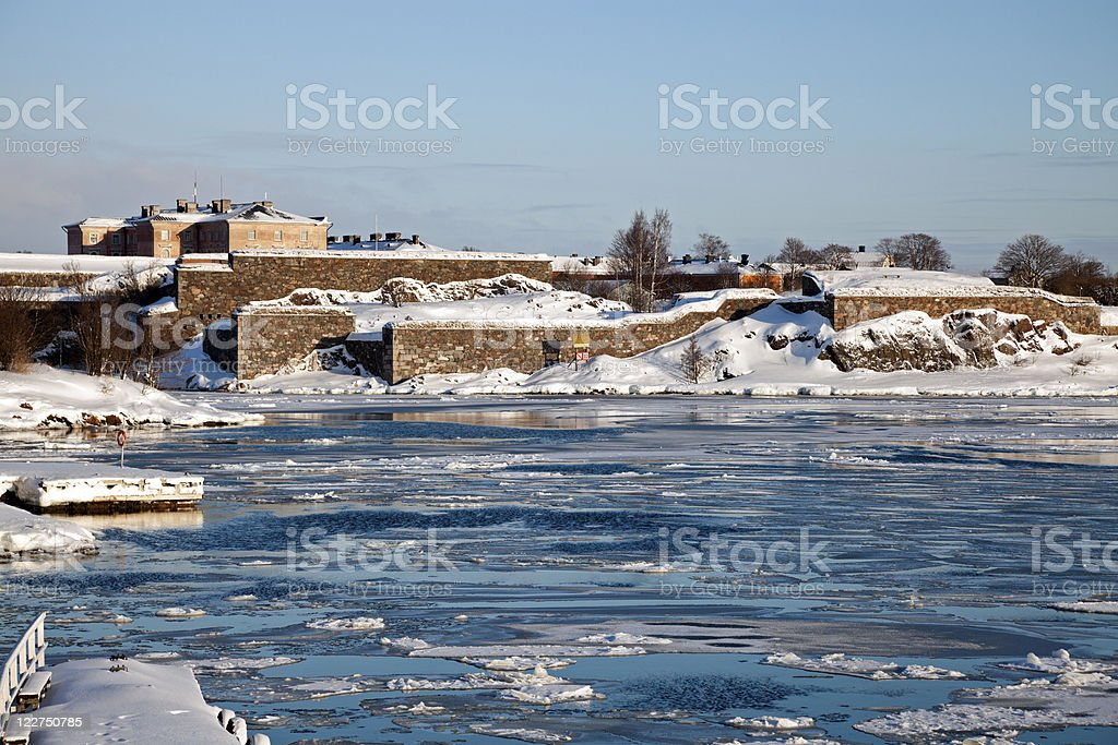 Suomenlinna Sea Fortress royalty-free stock photo