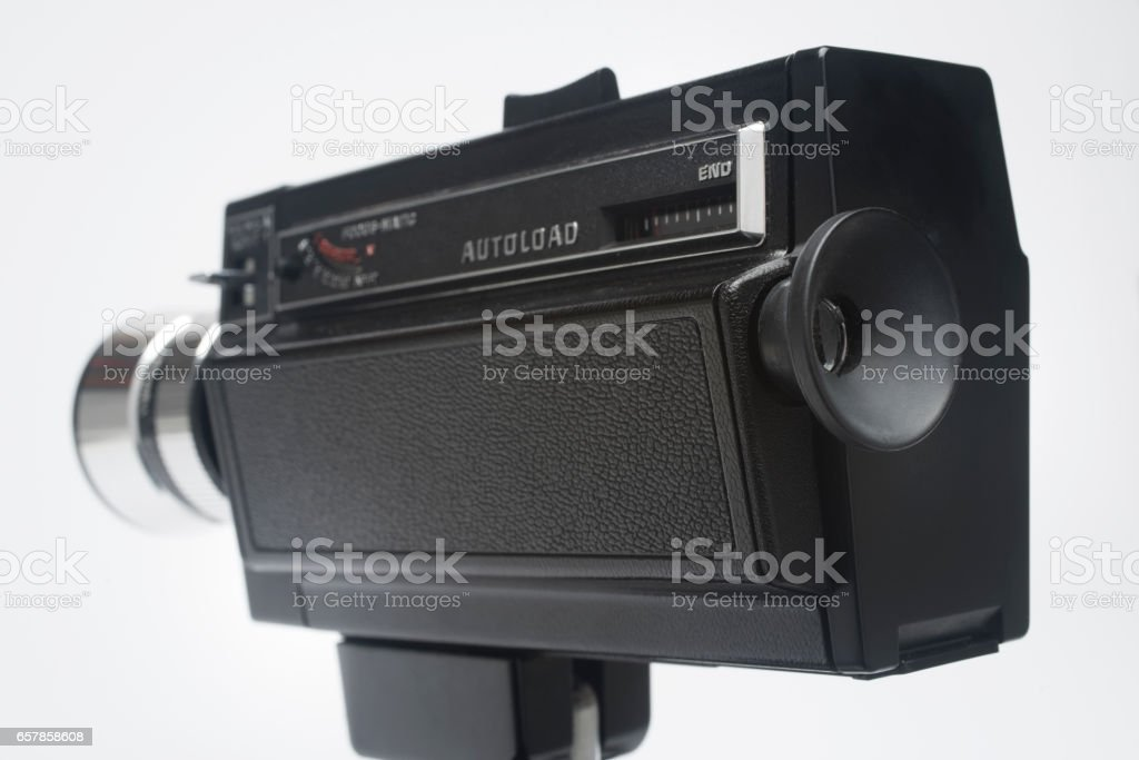 super 8 cinecamera stock photo