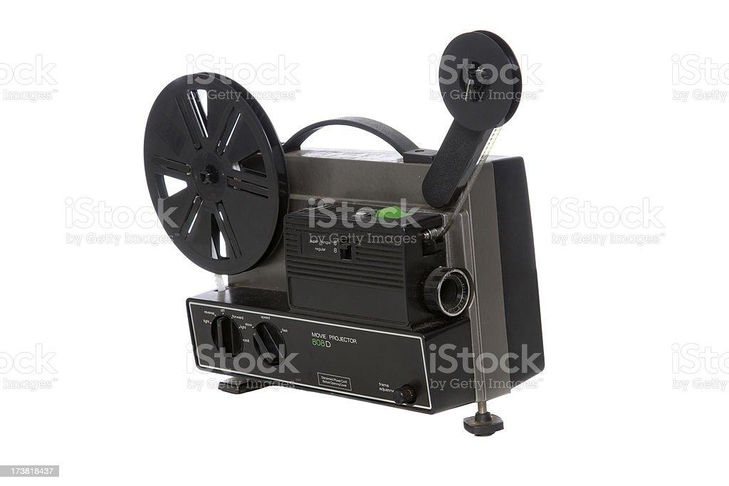 Super 8 Projector stock photo