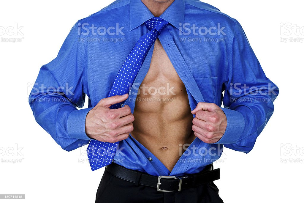 Super abs royalty-free stock photo