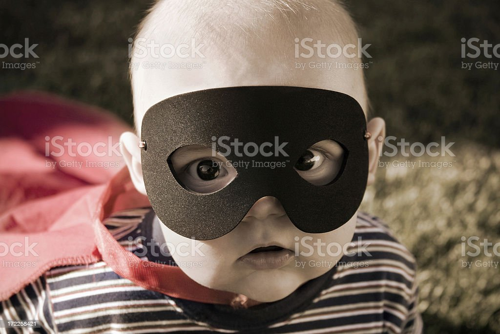 Super Baby of Steel stock photo