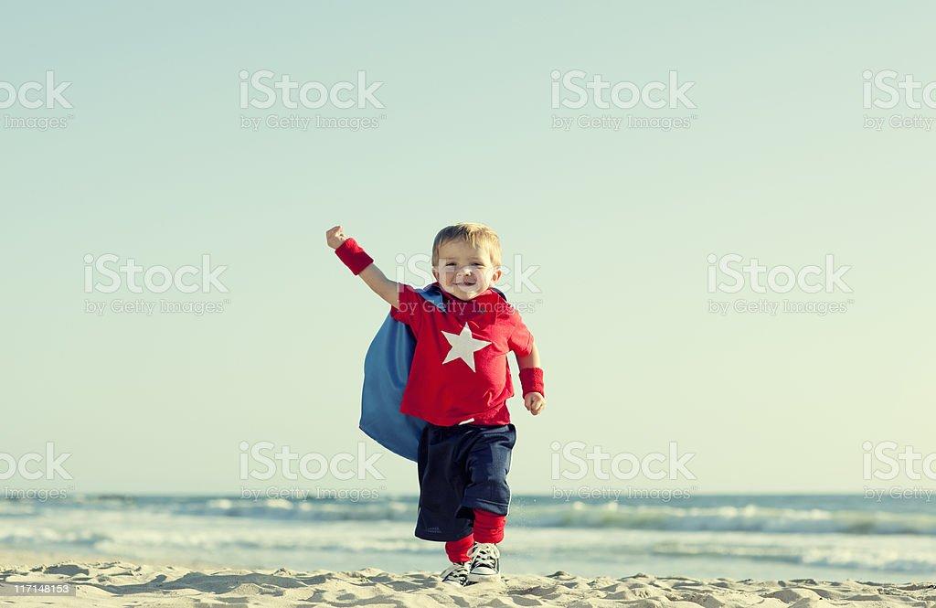 Super Boy! stock photo