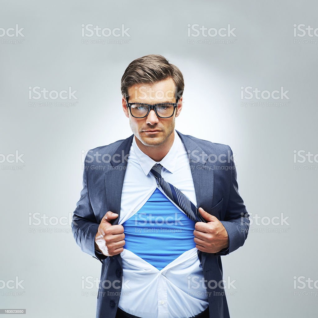 Super business practices royalty-free stock photo
