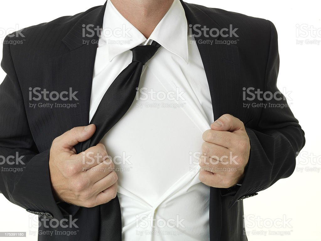 Super Businessman royalty-free stock photo