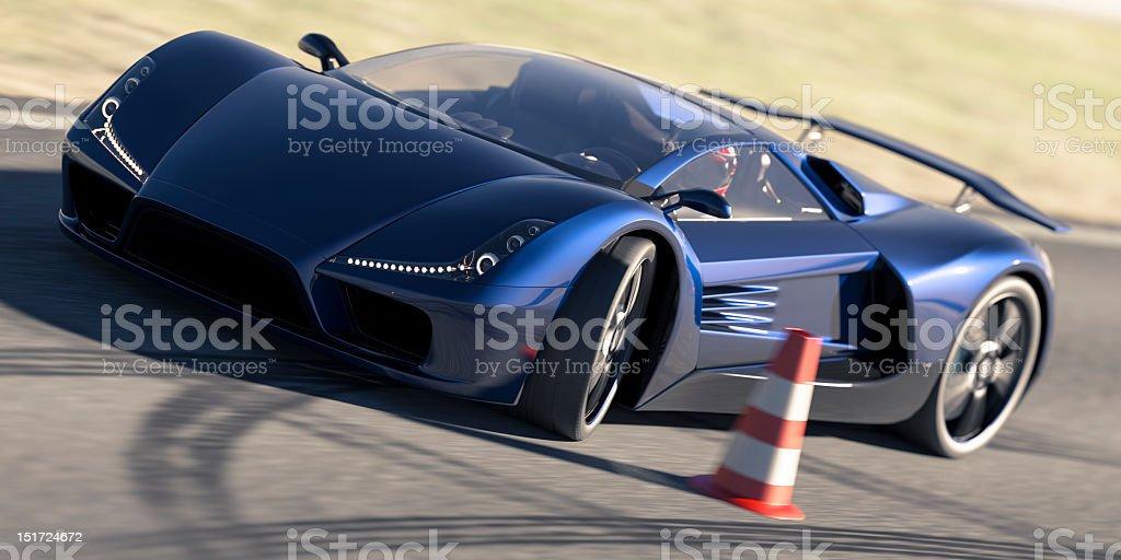 Super Car stock photo