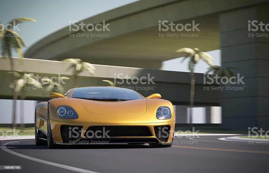 Super Car royalty-free stock photo
