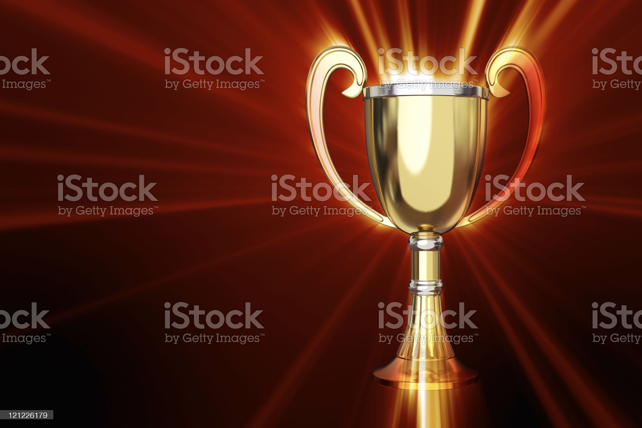 Super cup. XXXL royalty-free stock photo