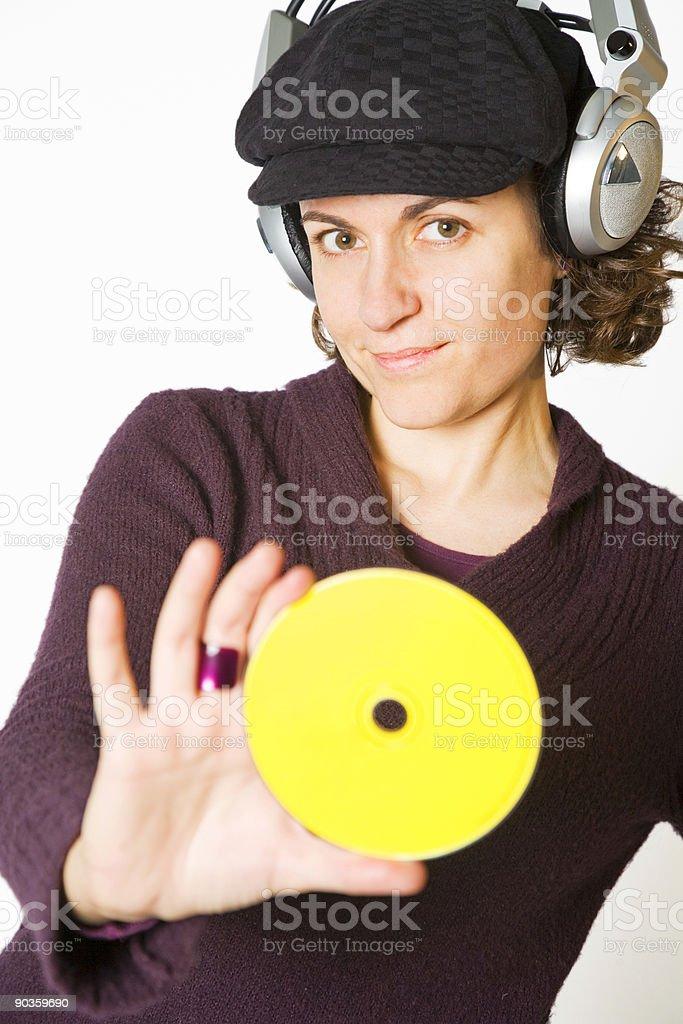 Super DJ royalty-free stock photo