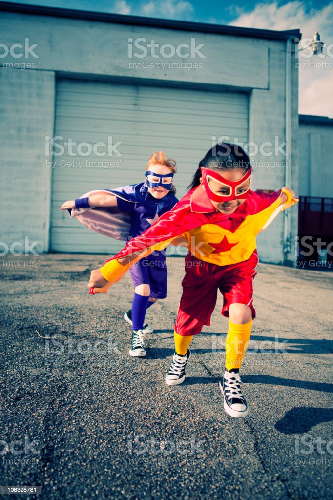 Super Duo! royalty-free stock photo