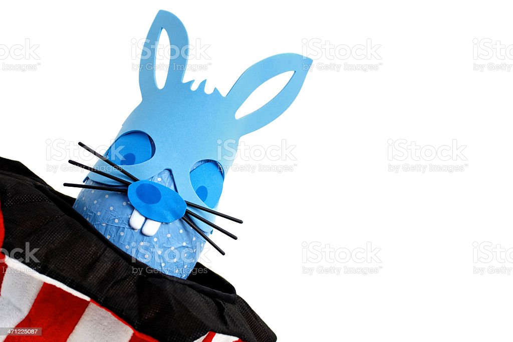 Super Easter bunny egg royalty-free stock photo