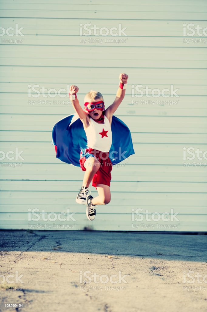 Super Flight stock photo