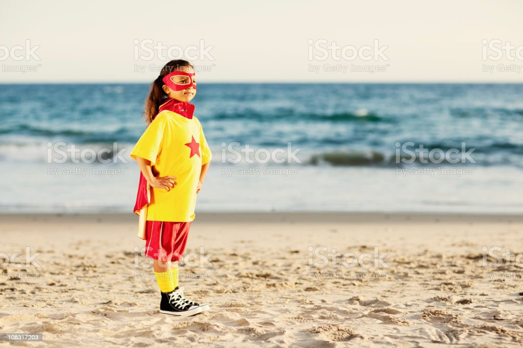 Super Girl royalty-free stock photo
