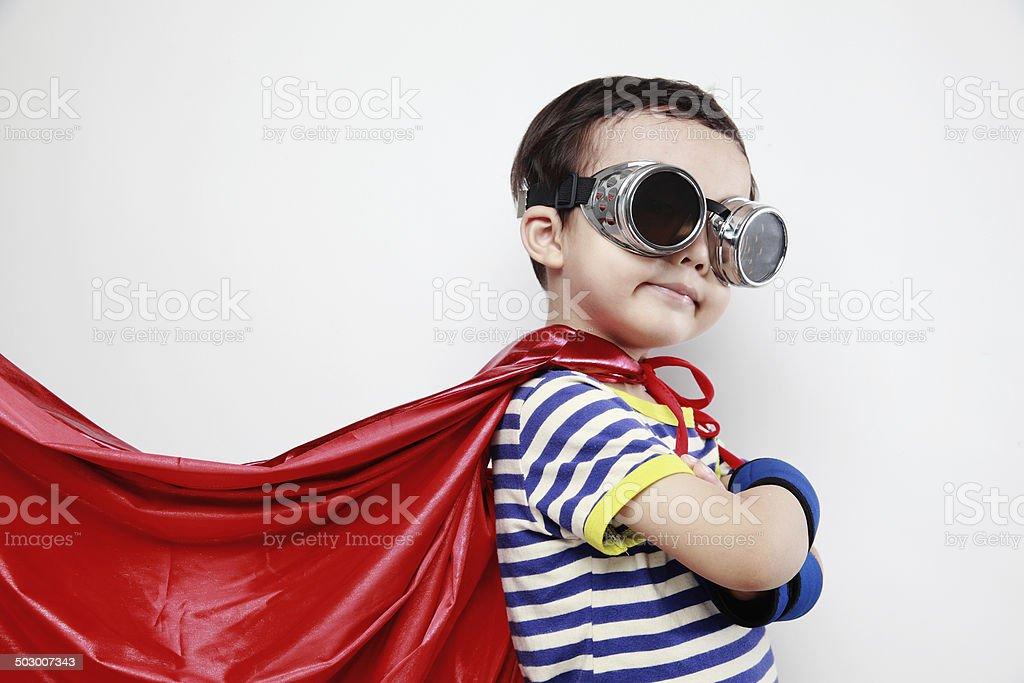 super hero stock photo