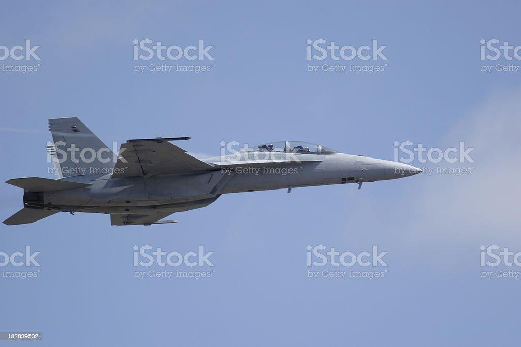 F/A 18F Super Hornet stock photo