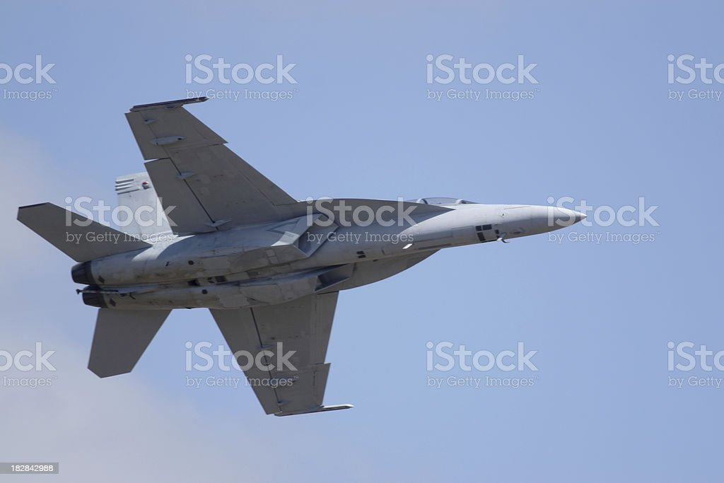 F/A 18 Super Hornet royalty-free stock photo