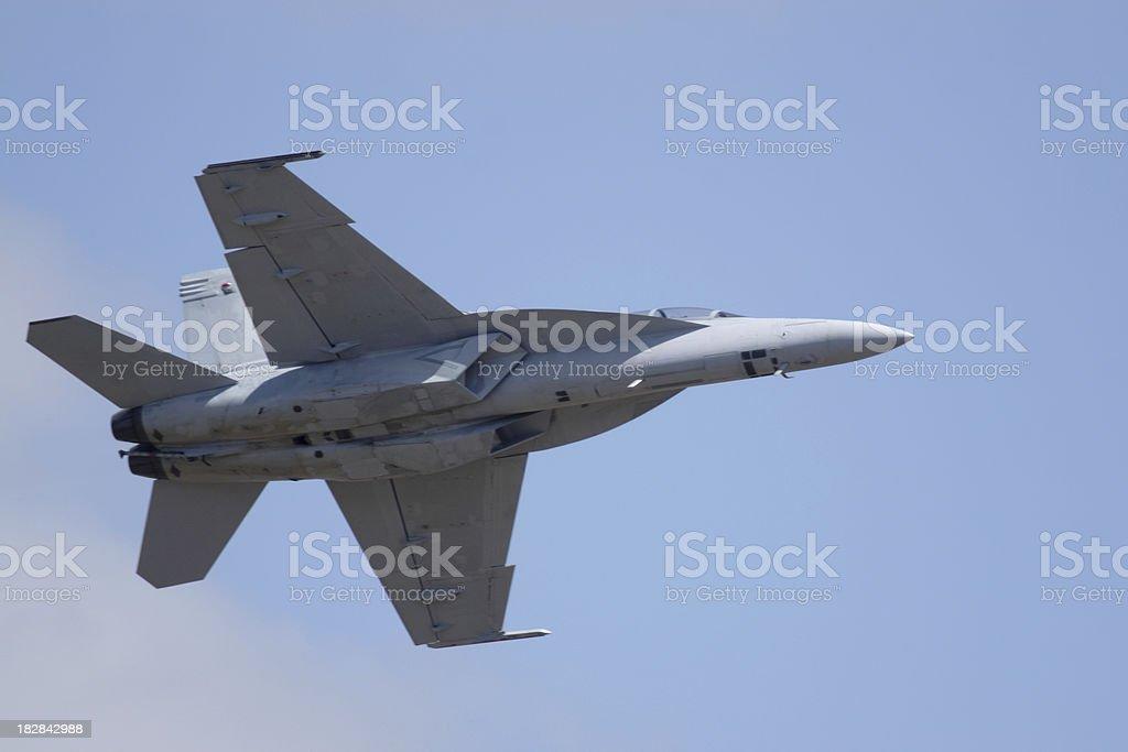 F/A 18 Super Hornet stock photo