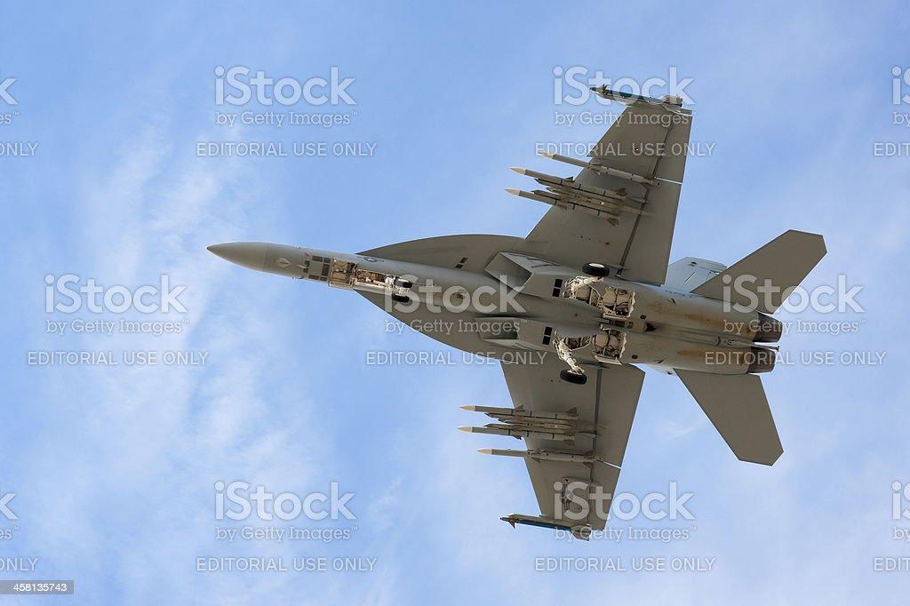 F-18 Super Hornet stock photo