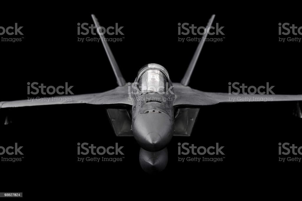 FA-18 Super Hornet royalty-free stock photo