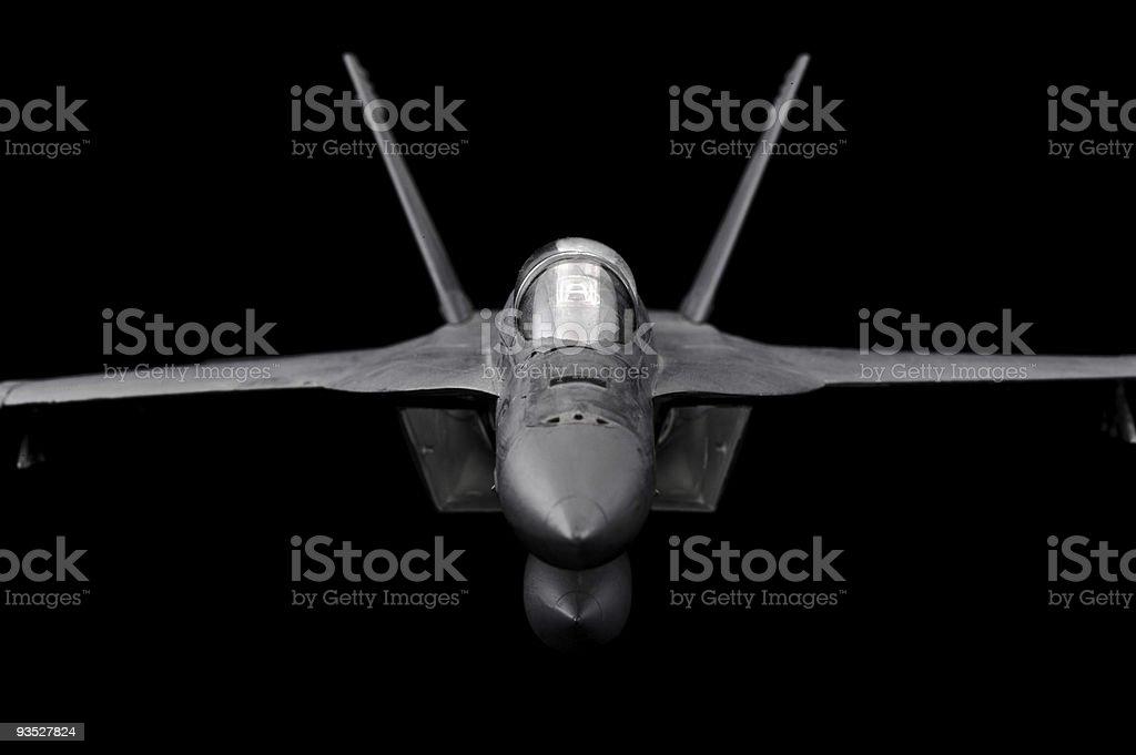 FA-18 Super Hornet stock photo