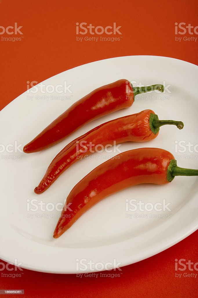 Super Hot! royalty-free stock photo