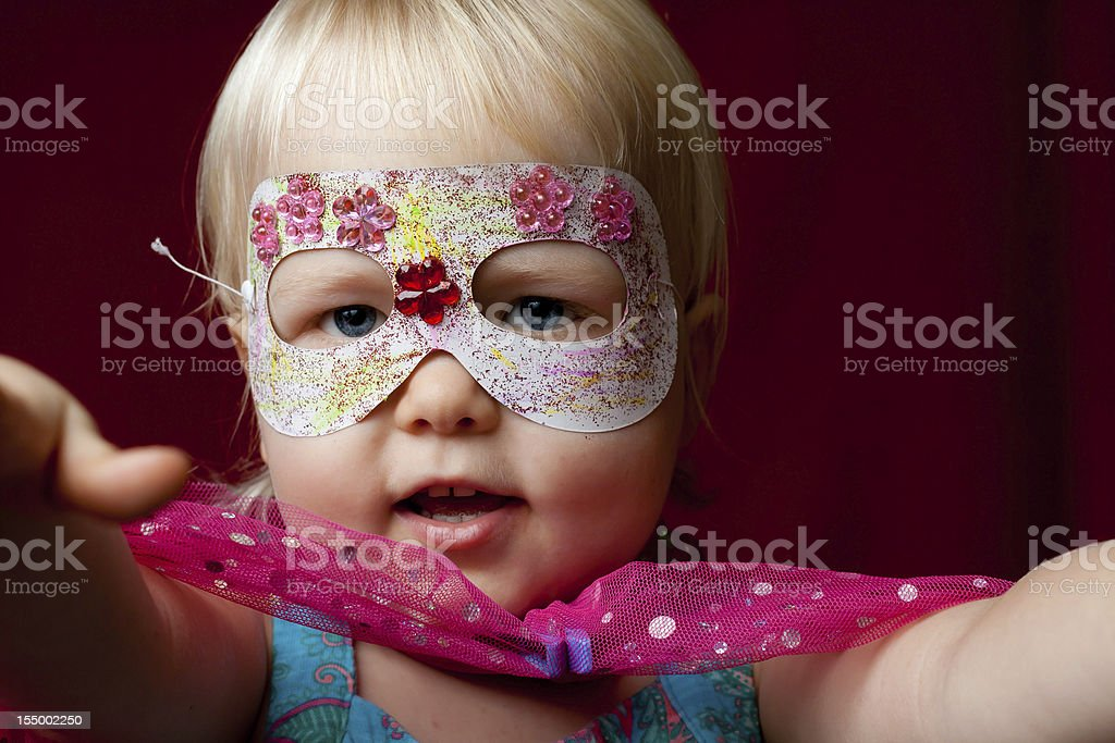 Super Kid! royalty-free stock photo