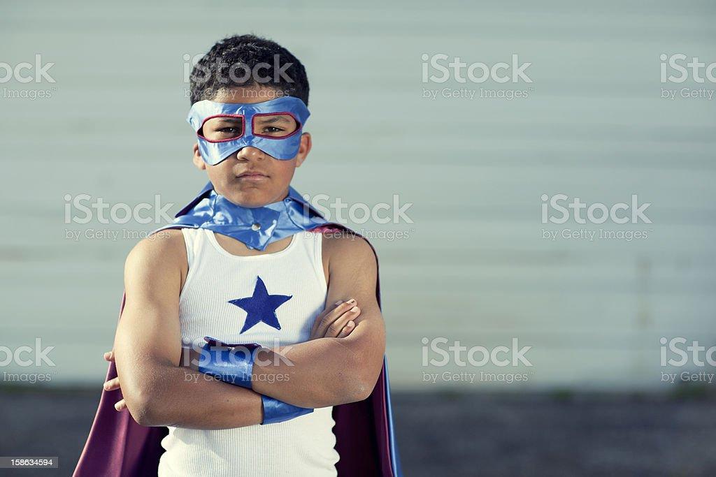 Super Kid royalty-free stock photo