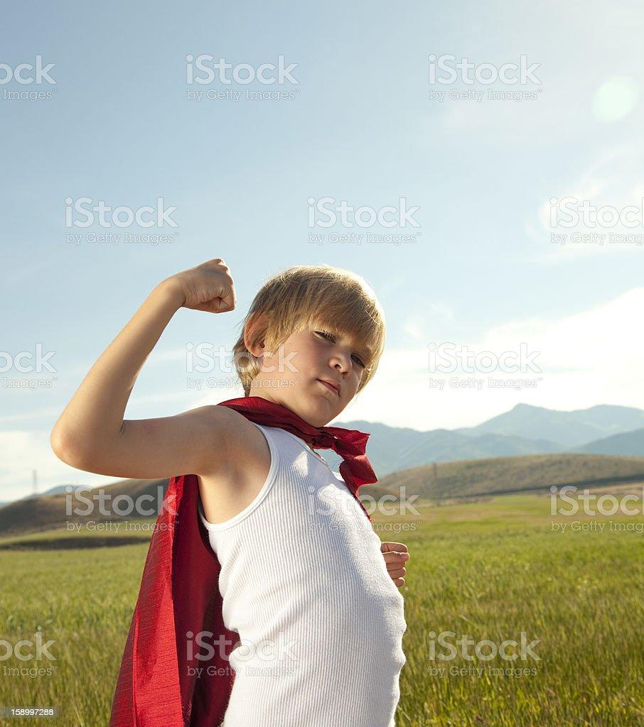 Super Kid stock photo