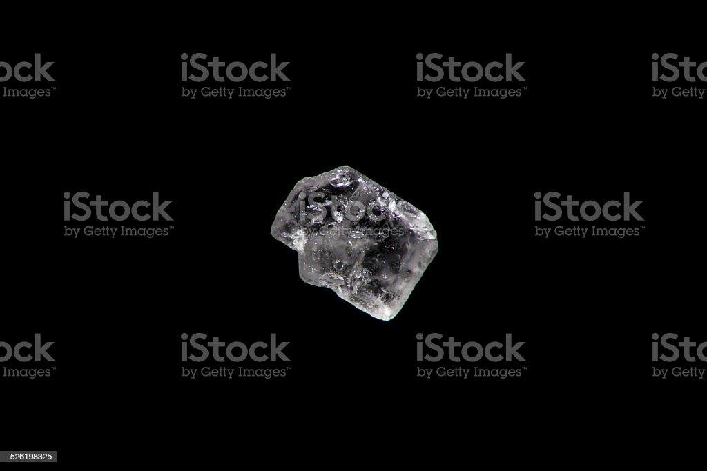 Super macro of a sugar crystal stock photo