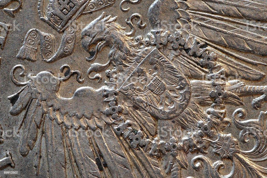 Super Macro Series - German Eagle royalty-free stock photo